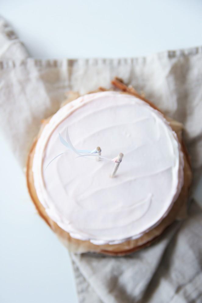 Zitronentörtchen mit Himbeermascarpone